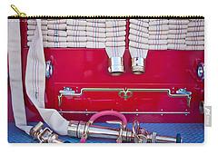 1952 L Model Mack Pumper Fire Truck Hoses Carry-all Pouch by Jill Reger