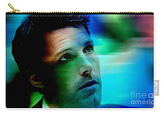 Ben Affleck Carry-all Pouch by Marvin Blaine