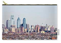 Buildings In A City, Comcast Center Carry-all Pouch by Panoramic Images