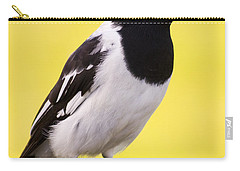 Fencepost Magpie Carry-all Pouch by Jorgo Photography - Wall Art Gallery
