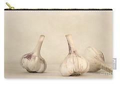 Fresh Garlic Carry-all Pouch by Priska Wettstein