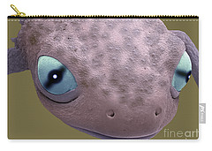 Head Of A Young Newt Sem Carry-all Pouch by Steve Gschmeissner