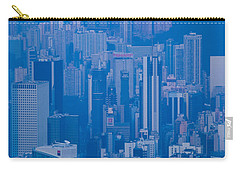 High Angle View Of Buildings Carry-all Pouch by Panoramic Images
