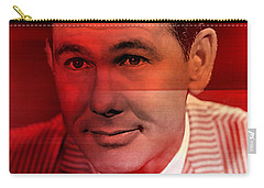 Johnny Carson Carry-all Pouch by Marvin Blaine