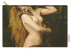 Lilith Carry-all Pouch by John Collier
