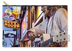 Music City Usa Carry-all Pouch by Brian Jannsen