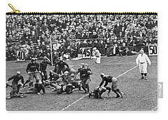 Notre Dame-army Football Game Carry-all Pouch by Underwood Archives