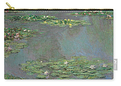 Nympheas Carry-all Pouch by Claude Monet