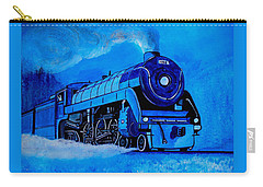 Royal Blue Express Carry-all Pouch by Pjohn Artman