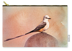 Scissor-tailed Flycatcher Carry-all Pouch by Betty LaRue