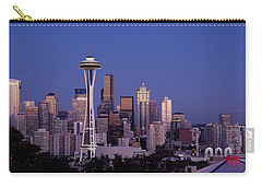 Skyscrapers In A City, Seattle Carry-all Pouch by Panoramic Images