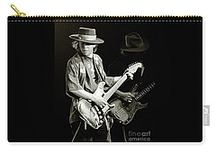 Stevie Ray Vaughan 1984 Carry-all Pouch by Chuck Spang