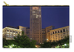 Terminal Tower Part Two Carry-all Pouch by Frozen in Time Fine Art Photography