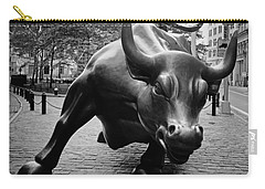 The Wall Street Bull Carry-all Pouch by Pixabay