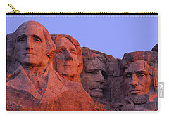 Usa, South Dakota, Mount Rushmore Carry-all Pouch by Panoramic Images