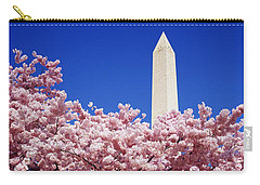 Washington Monument Washington Dc Carry-all Pouch by Panoramic Images