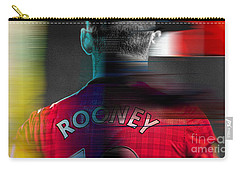 Wayne Rooney Carry-all Pouch by Marvin Blaine