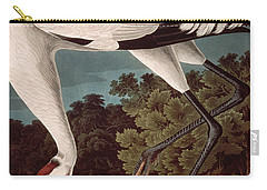 Whooping Crane Carry-all Pouch by John James Audubon
