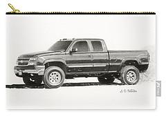 2006 Chevy Silverado 2500 Hd Carry-all Pouch by Sarah Batalka