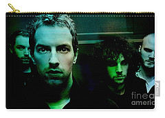 Coldplay Carry-all Pouch by Marvin Blaine