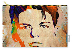 Frank Sinatra Collection Carry-all Pouch by Marvin Blaine