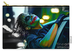 Heath Ledger Carry-all Pouch by Marvin Blaine