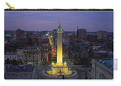 High Angle View Of A Monument Carry-all Pouch by Panoramic Images