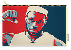 Lebron James Carry-all Pouch by Taylan Apukovska
