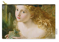 Take The Fair Face Of Woman Carry-all Pouch by Sophie Anderson