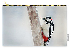 Woodpecker Carry-all Pouch by Heike Hultsch