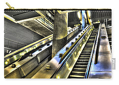 Canary Wharf Station Carry-all Pouch by David Pyatt