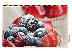 Fruit Tarts Carry-all Pouch by Elena Elisseeva