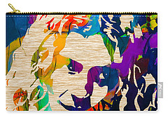 Robert Plant Carry-all Pouch by Marvin Blaine