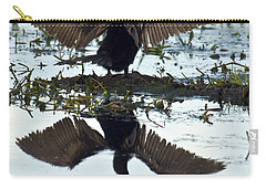 Anhinga Carry-all Pouch by Mark Newman
