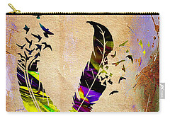 Birds Of A Feather Carry-all Pouch by Marvin Blaine