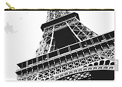 Eiffel Tower Carry-all Pouch by Elena Elisseeva