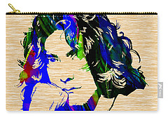 Robert Plant Collection Carry-all Pouch by Marvin Blaine