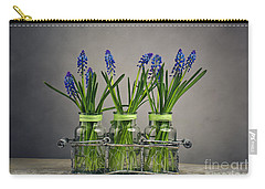 Hyacinth Still Life Carry-all Pouch by Nailia Schwarz