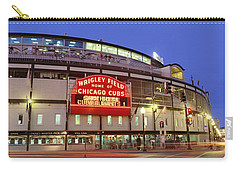 Usa, Illinois, Chicago, Cubs, Baseball Carry-all Pouch by Panoramic Images
