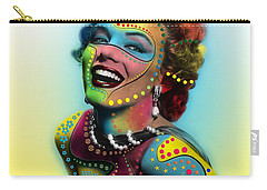 Marilyn Monroe Carry-all Pouch by Mark Ashkenazi