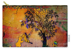 Tree Wall Art Carry-all Pouch by Marvin Blaine