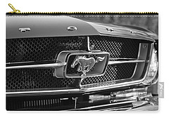 1965 Shelby Prototype Ford Mustang Grille Emblem Carry-all Pouch by Jill Reger