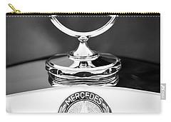 Mercedes-benz Hood Ornament Carry-all Pouch by Jill Reger