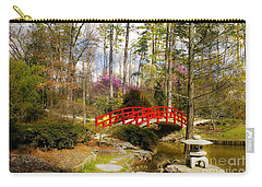 A Bridge To Spring Carry-all Pouch by Benanne Stiens