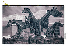 A Monument To Freedom II Carry-all Pouch by Joan Carroll