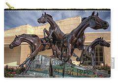 A Monument To Freedom Carry-all Pouch by Joan Carroll