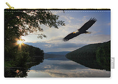 A New Beginning Carry-all Pouch by Lori Deiter