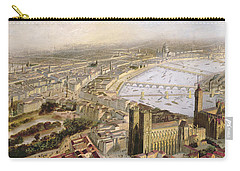 A Panoramic View Of London Carry-all Pouch by English School