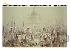 A Tribute To Sir Christopher Wren Carry-all Pouch by Charles Robert Cockerell