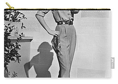 Actress Grace Kelly Carry-all Pouch by Underwood Archives